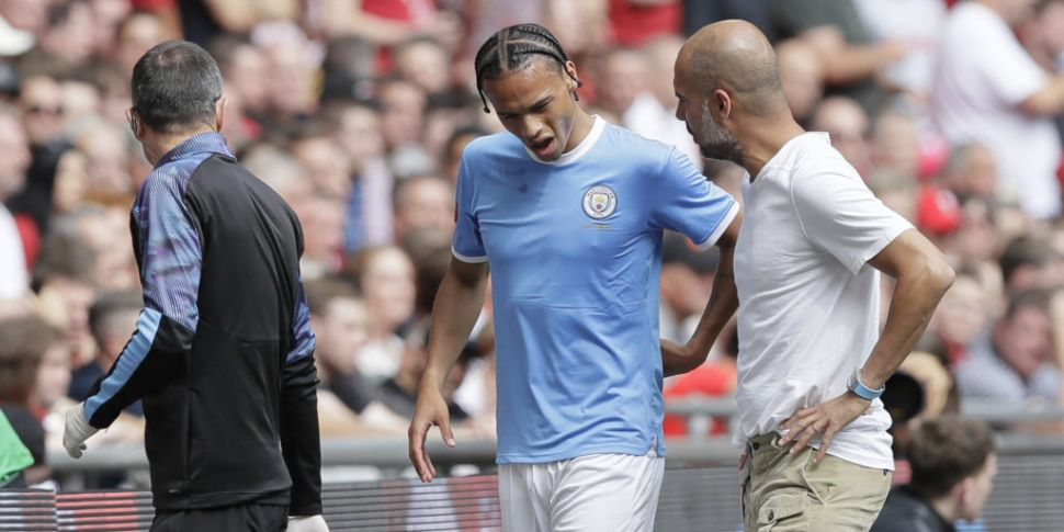 Manchester City confirm Leroy...