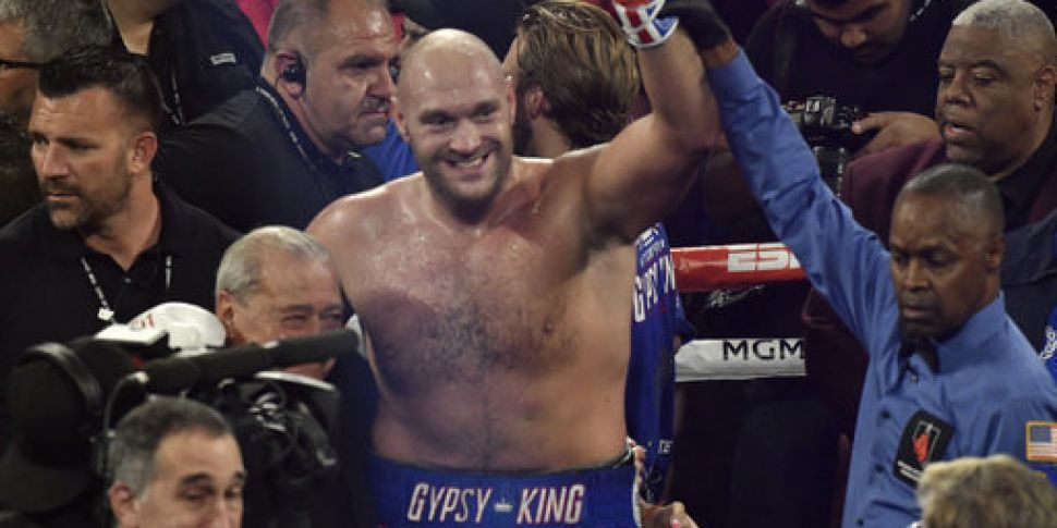 Tyson Fury's next opponent has...