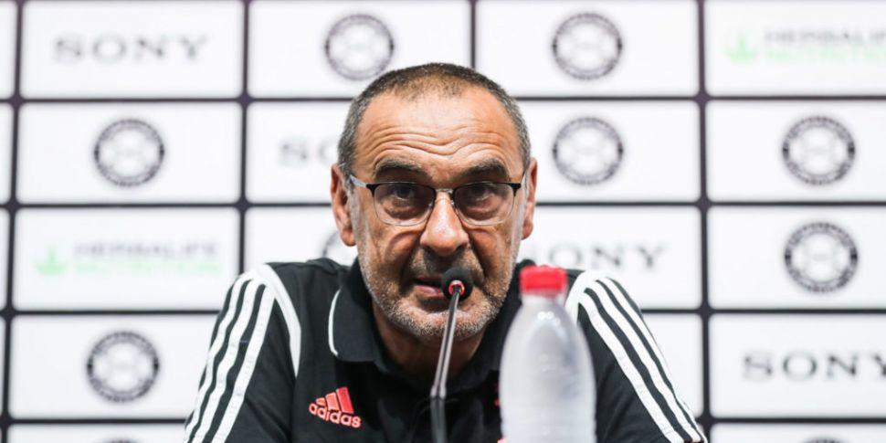 New Juventus boss Maurizio Sar...