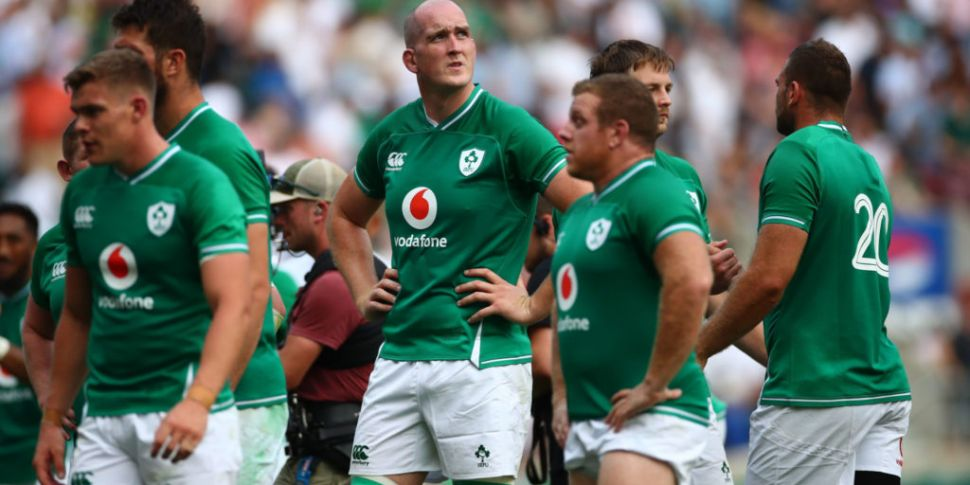 Toner out of Ireland Rugby Wor...