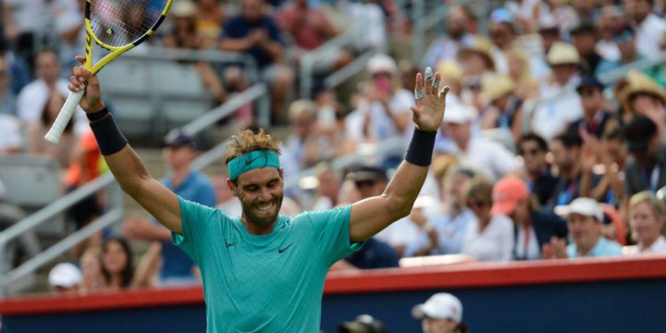 Nadal into quarter finals of U...