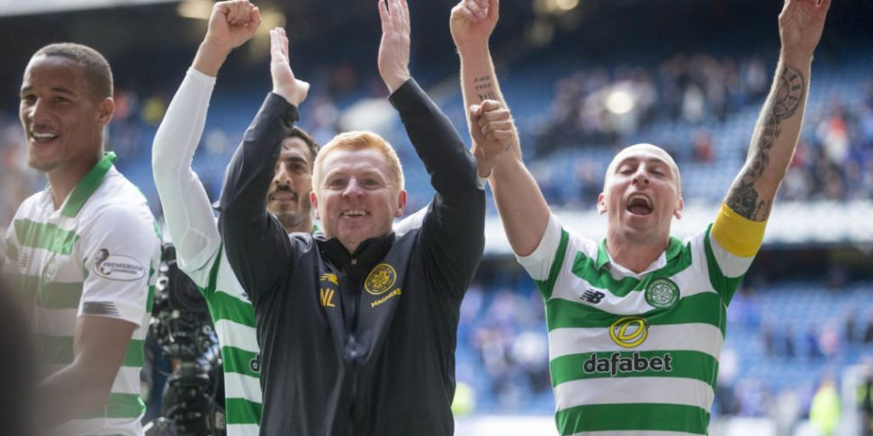 Celtic nine-in-a-row champions...