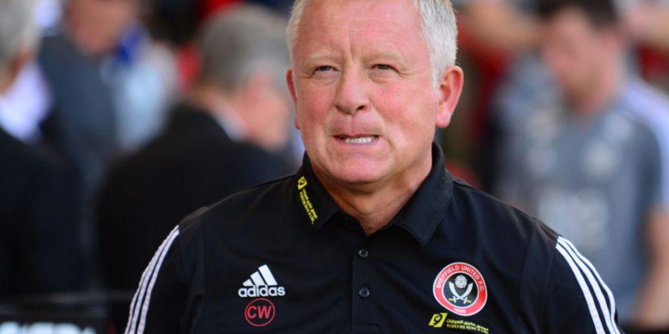 Sheffield United manager Chris...