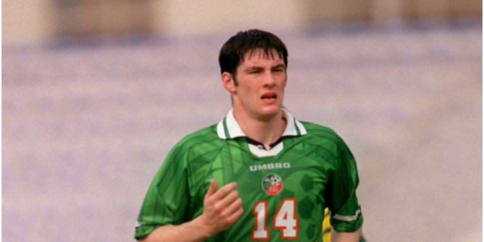 Former Irish footballer Richie...
