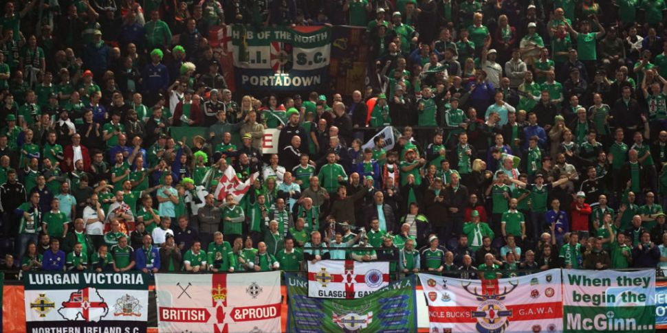 Northern Ireland fans critical...