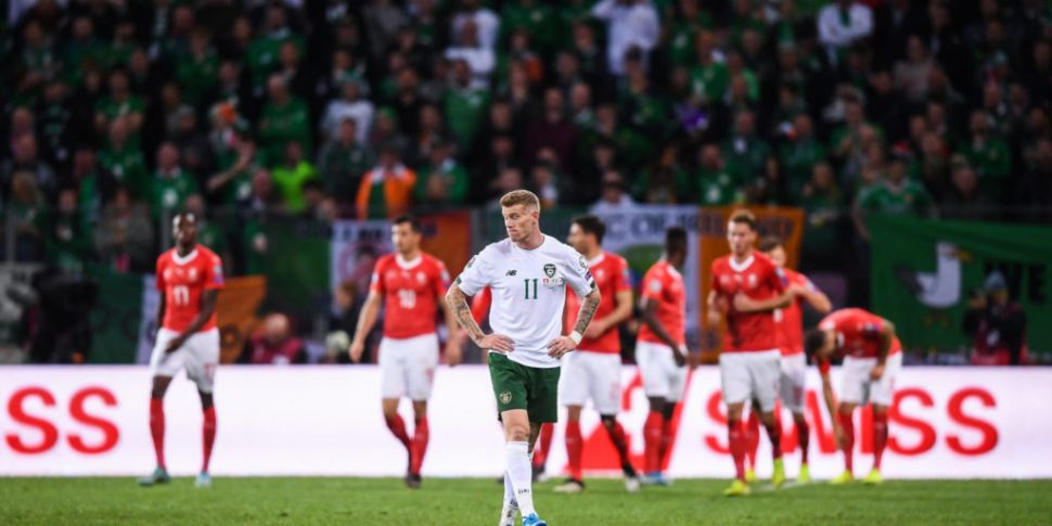 Ireland's Euro 2020 hopes dent...