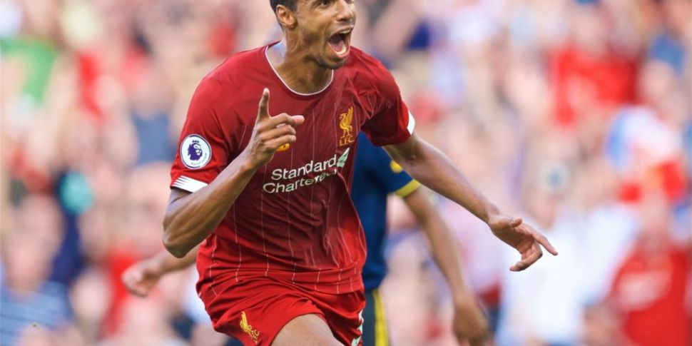 Joel Matip out for the rest of...
