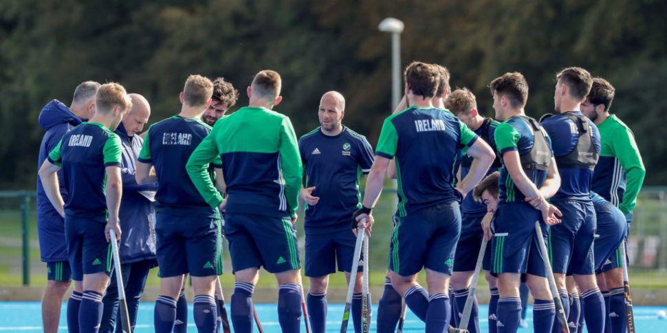 Ireland men's hockey team miss...