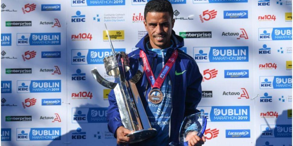 Dublin Marathon winner 'slippe...