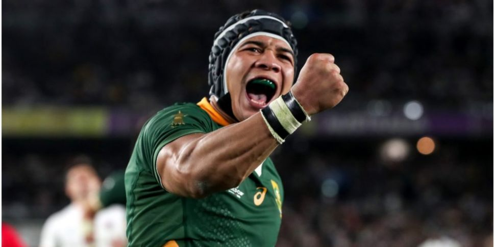 REACTION: Springboks overcome...