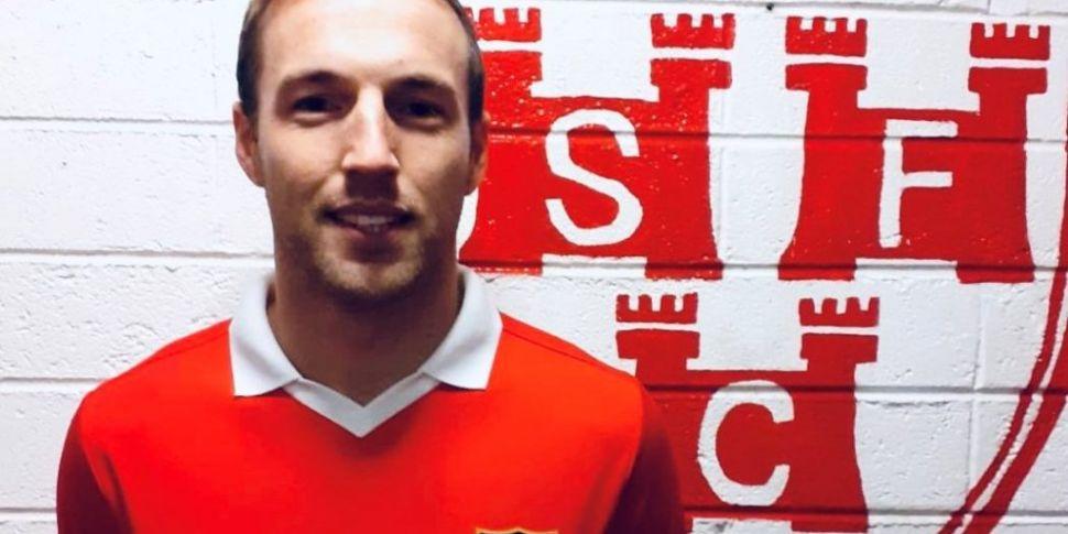 Shelbourne sign Karl Sheppard...