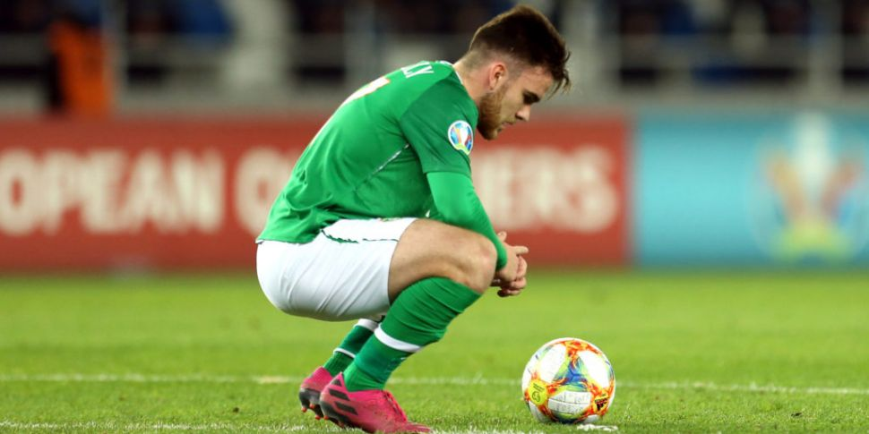 Aaron Connolly out of Ireland'...