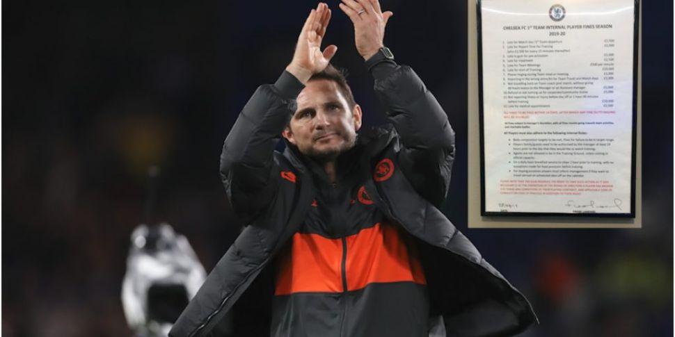 Frank Lampard's heavy internal...