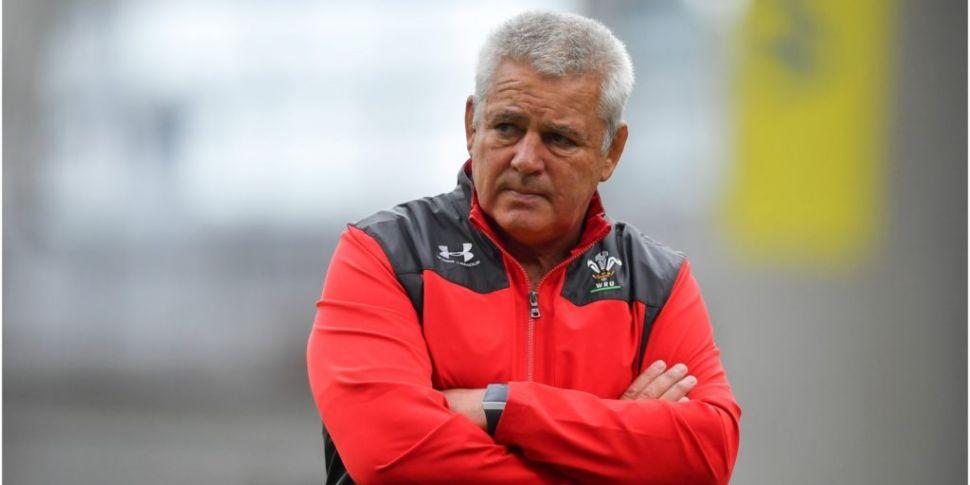 Welsh Rugby speak to Gatland f...