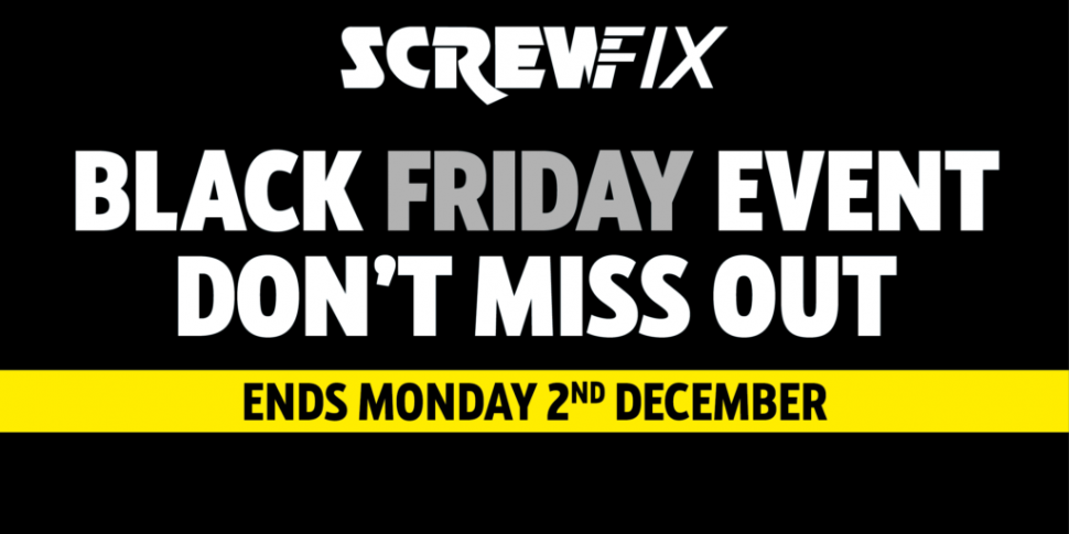 WIN! Screwfix vouchers up for...