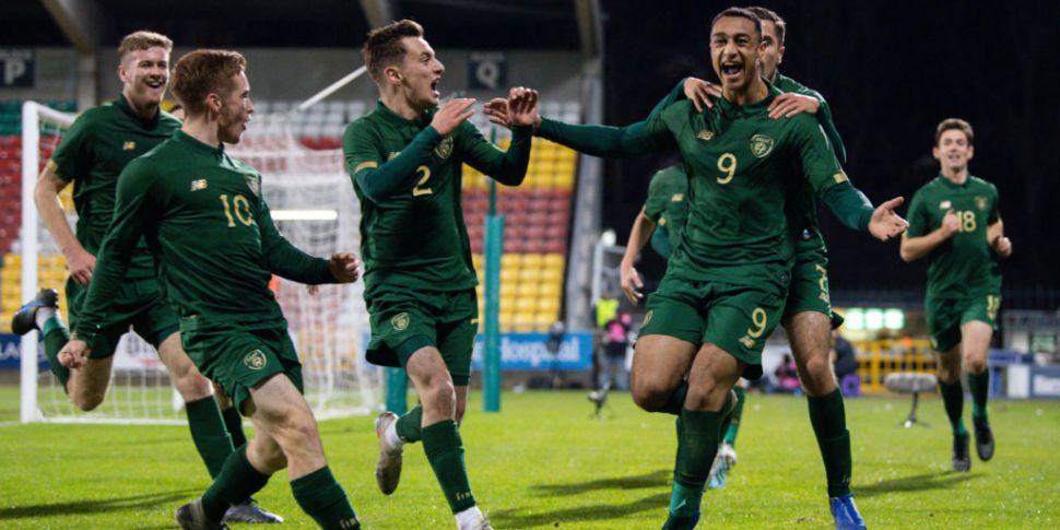 Stunning Ireland U21s thrash S...