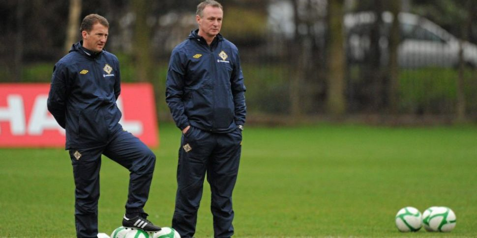 Michael O'Neill reunited with...