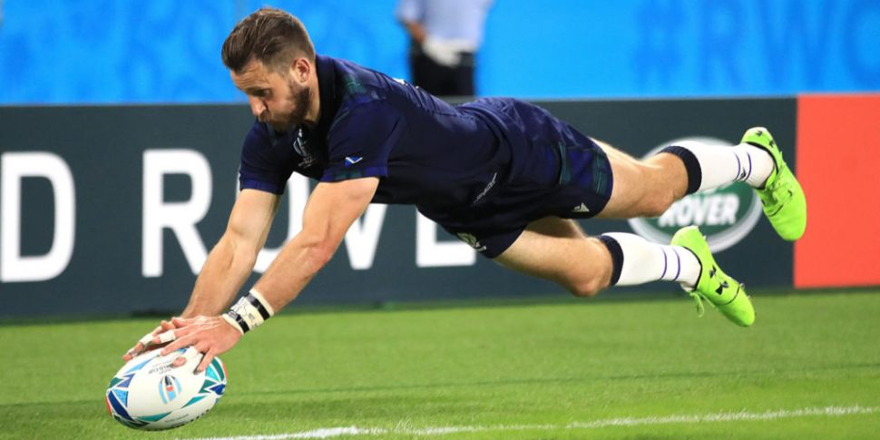 Scotland wing Tommy Seymour an...