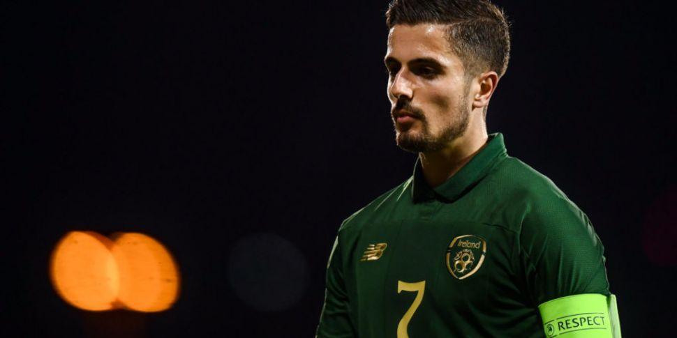 Ireland Under-21s' Zack Elbouz...