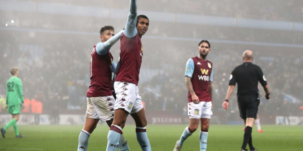 Aston Villa thrash Liverpool's...