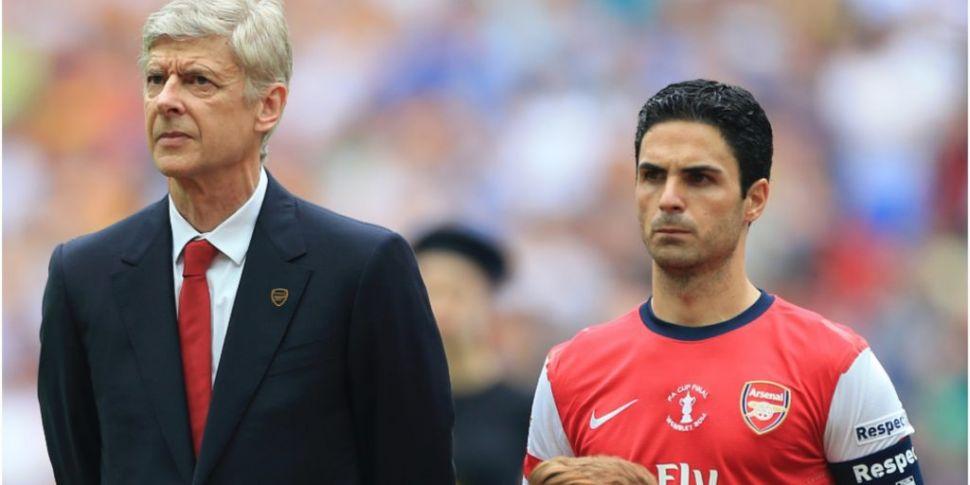 Wenger backs Arteta for Gunner...