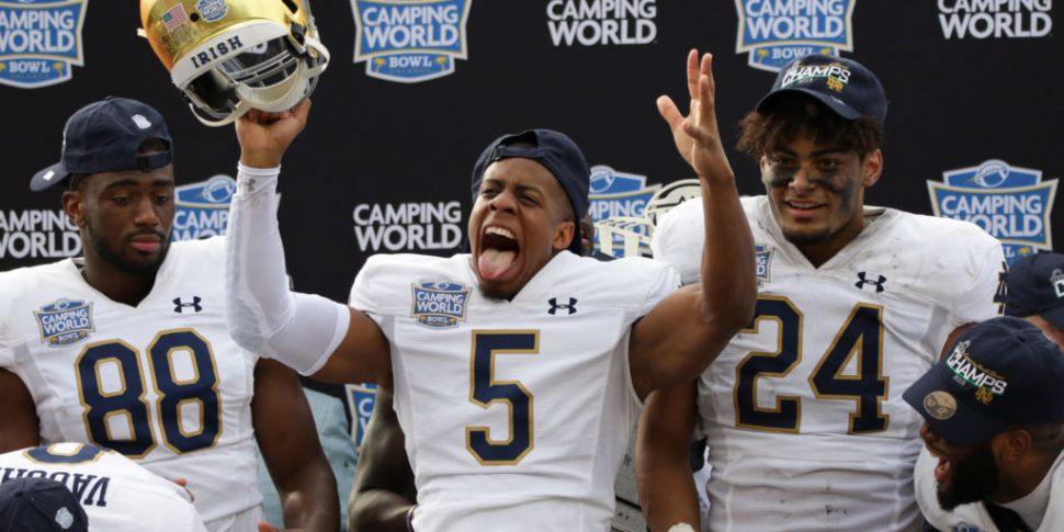 Notre Dame ease to win over Io...