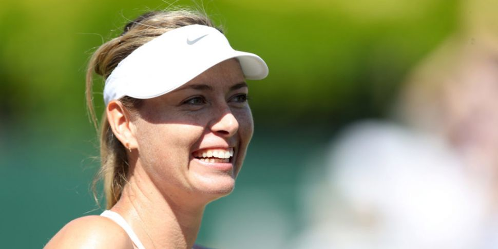 Maria Sharapova handed wild ca...