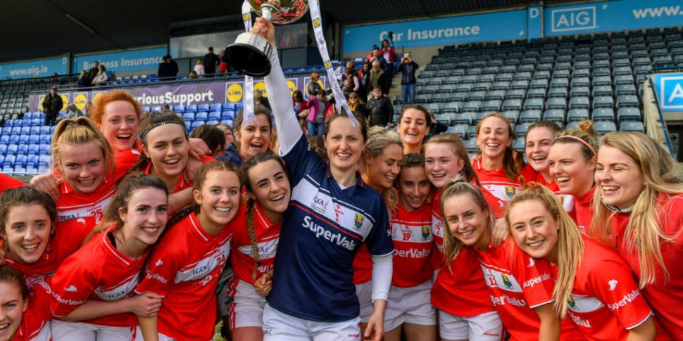 Cork senior women's team given...