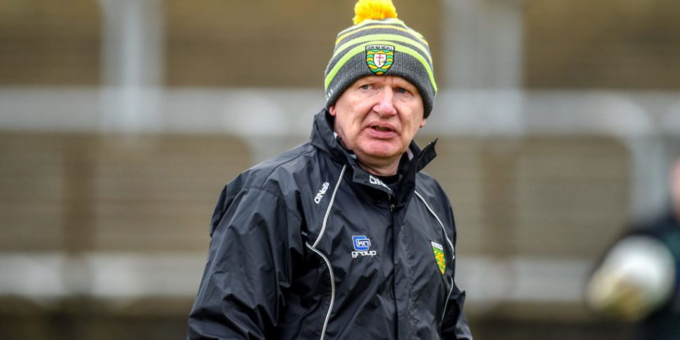 Declan Bonner: Donegal can't f...