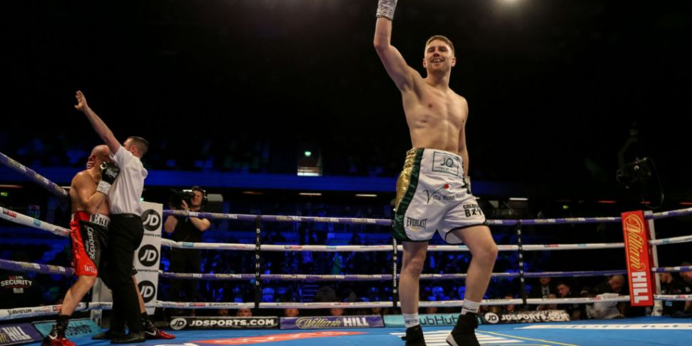 Jason Quigley back in the ring...