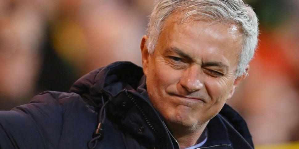 Jose Mourinho confirms Spurs a...