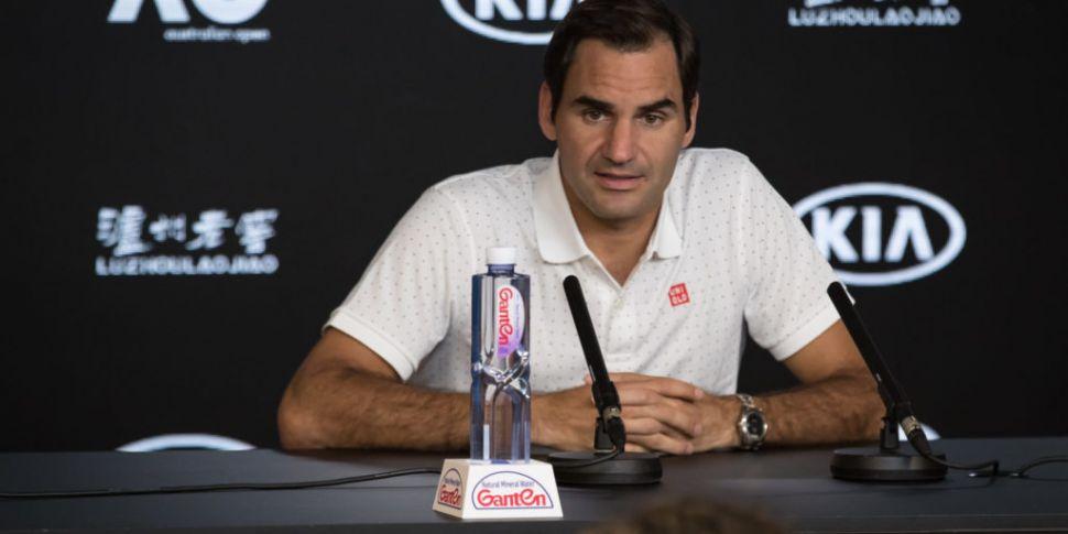 Federer concerned about air qu...