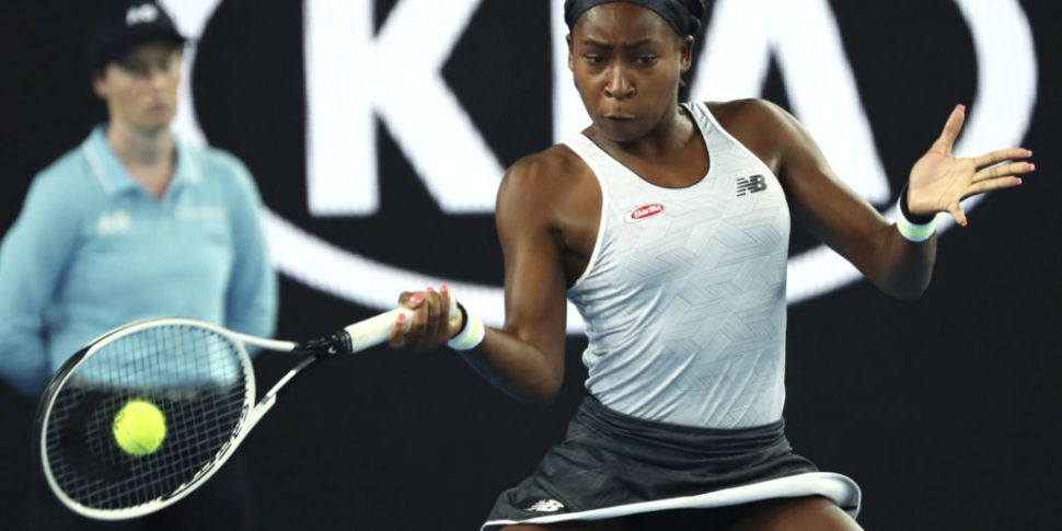15-year-old Coco Gauff stuns V...