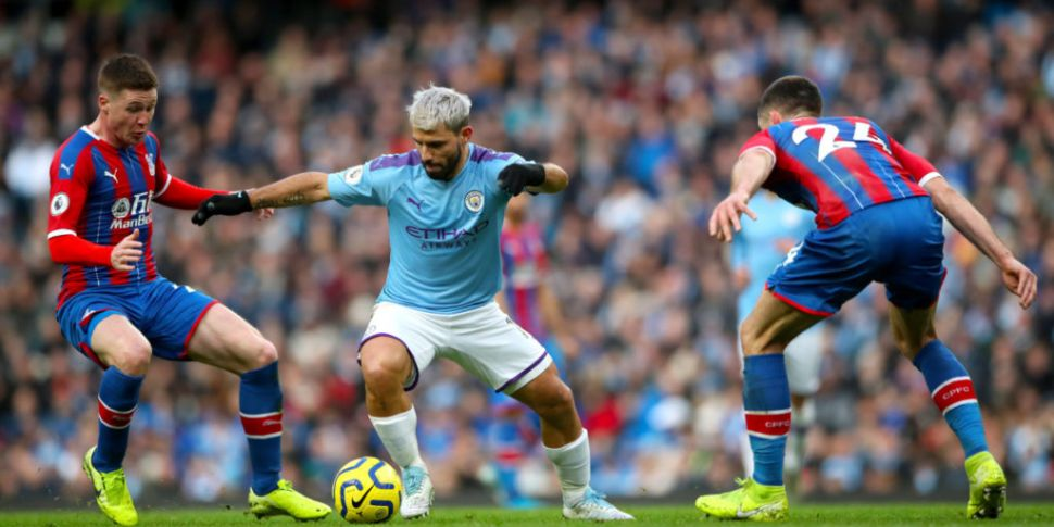 Sergio Aguero could be fit to...