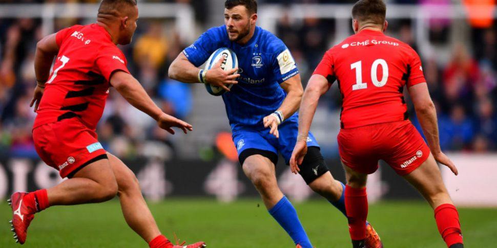 Leinster to face Saracens on a...