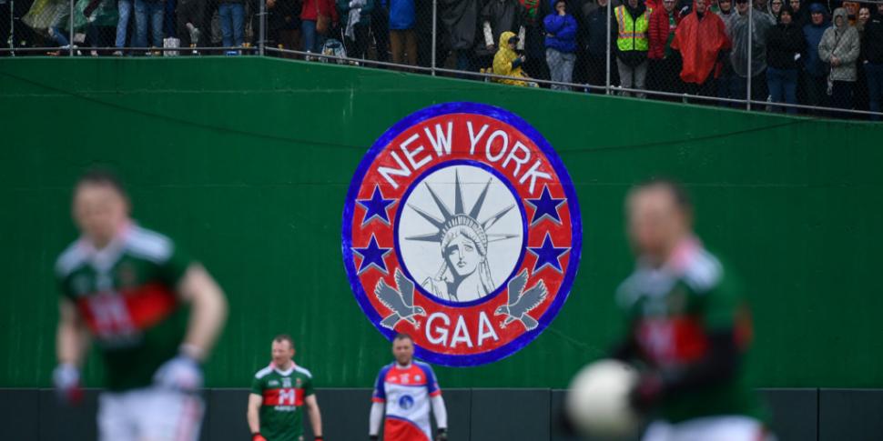 REPORTS | New York GAA set to...