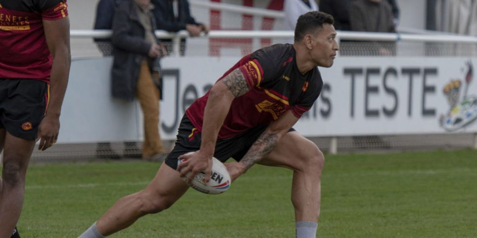 Israel Folau set to make his S...