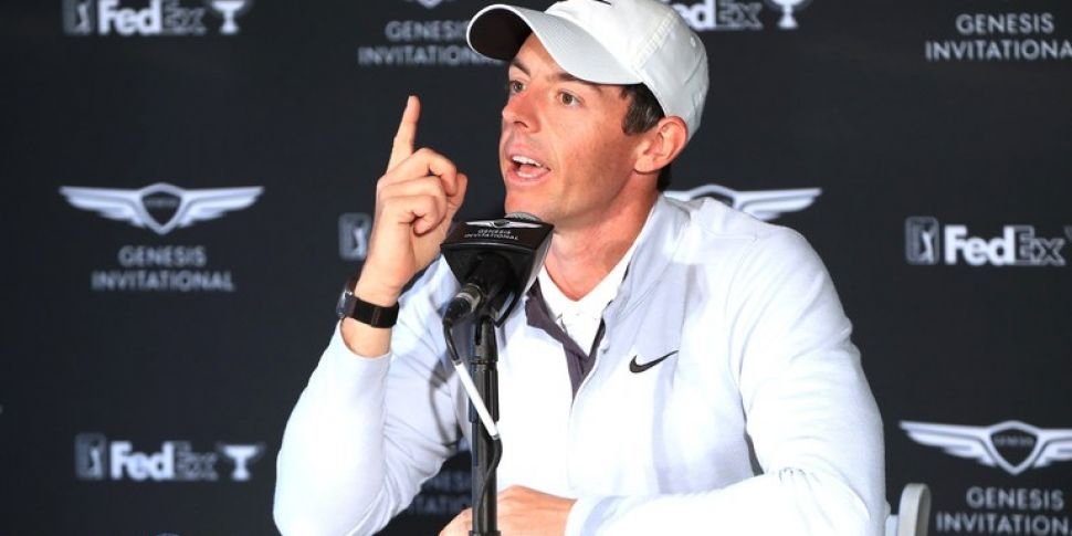 Rory Holds Court at Riviera