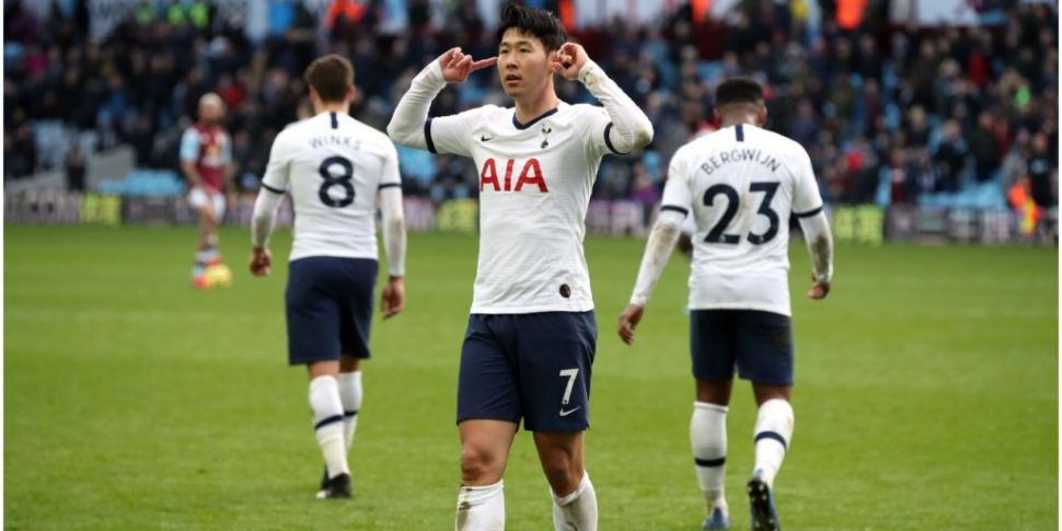 Big blow for Spurs with Son He...