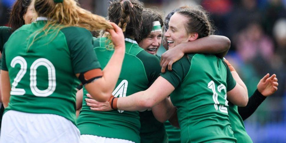Grand Slam chasing Ireland wom...