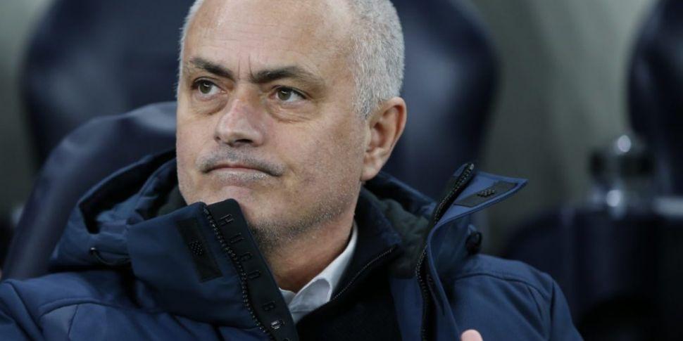 Jose Mourinho says top four fi...