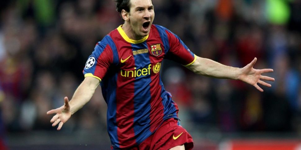 Messi is now happy at Barcelon...
