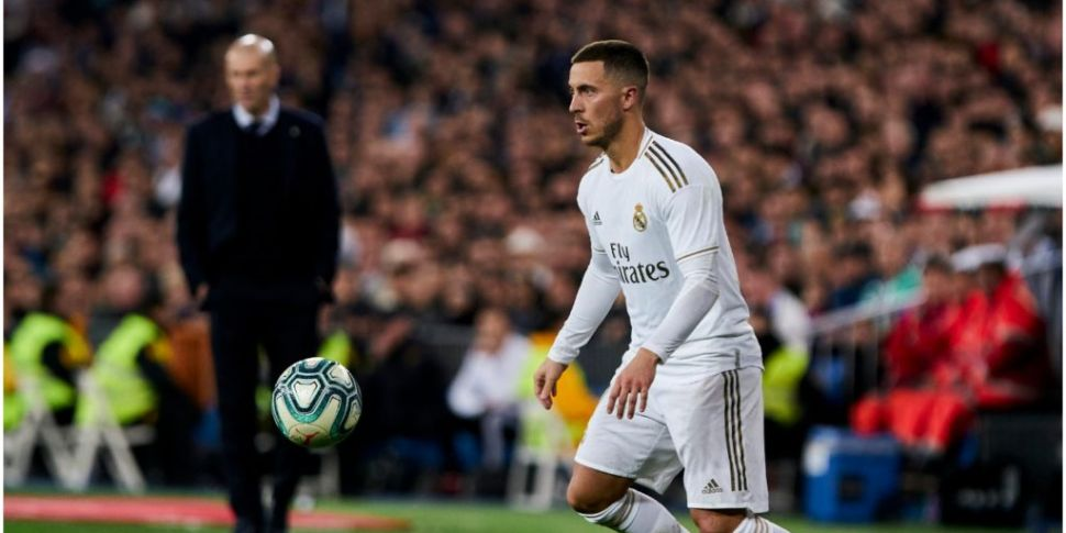 Blow for Real Madrid with Eden...