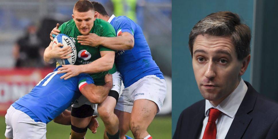 Simon Harris on Italy match: '...