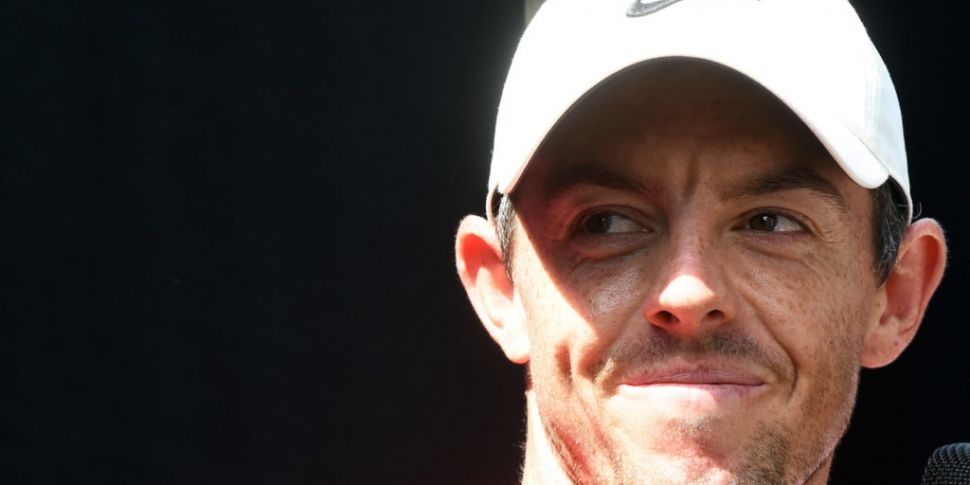 Rory McIlroy two shots off the...