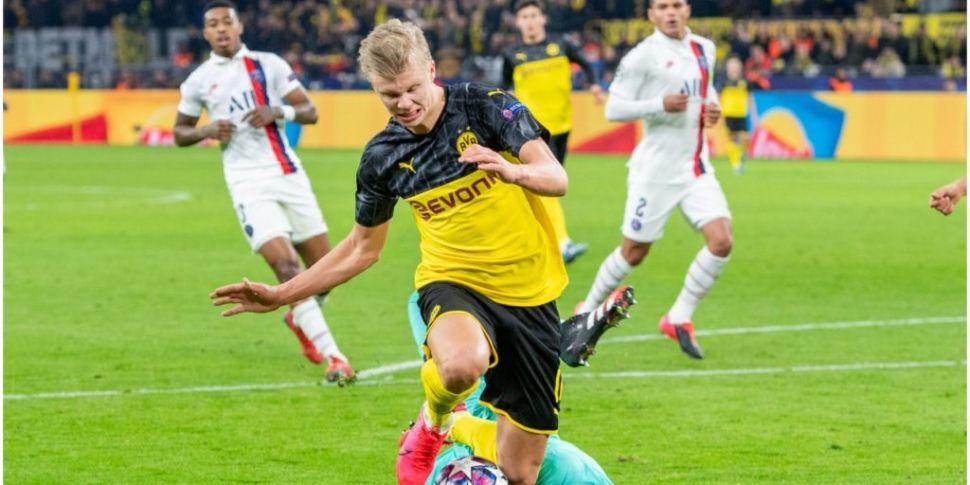PSG v Borussia Dortmund in Cha...