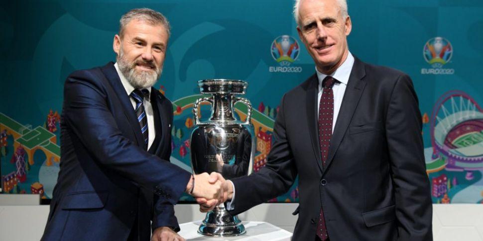 Slovakian FA say Ireland Euro...