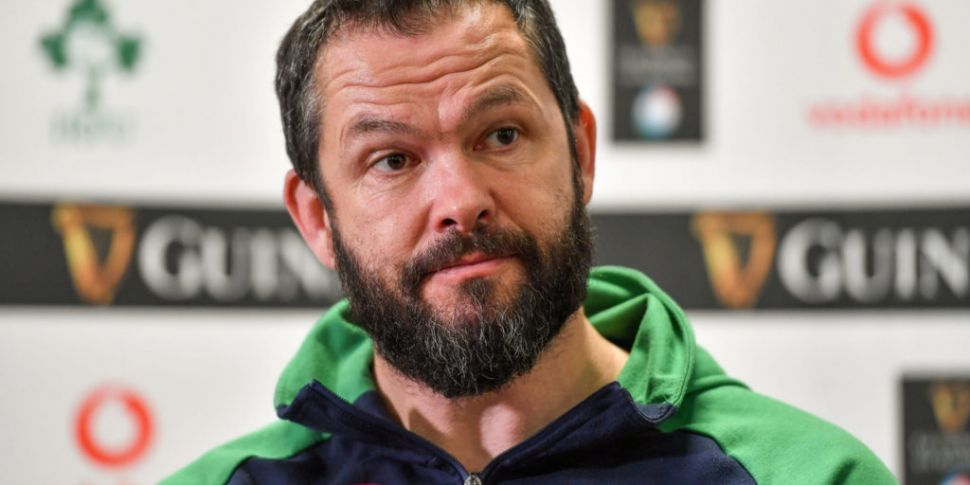 'Disappointed' Andy Farrell -...