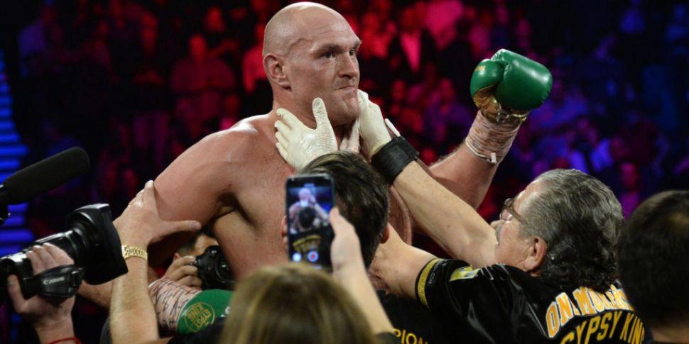 Tyson Fury believes Anthony Jo...