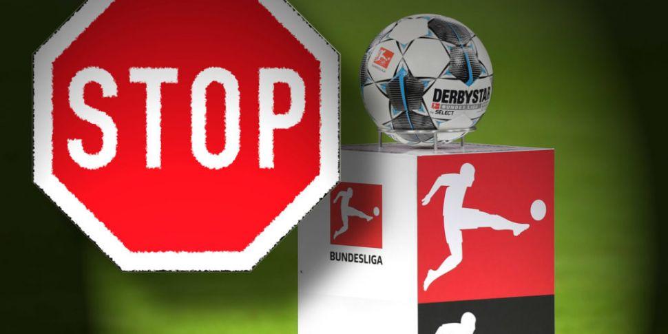 Bundesliga suspended until Apr...